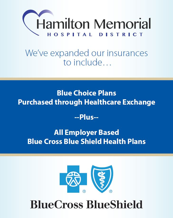 Hmh expands insurances accepted hamilton memorial hospital bcbs plans expanded malvernweather Images